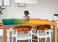 Наклейка на стол Zatarga Абстракция 01 650х1200мм для домов, квартир, столов, кофейн, кафе