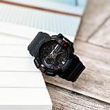 Часы електроные sanda 599 черные, фото 5