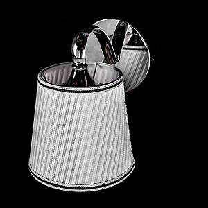 Бра модерн на 1 лампочку с абажуром P13-5055/1W/CH