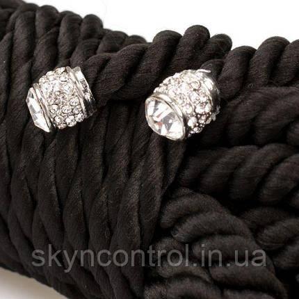 Веревка для бондажа Premium Silky 3M Black, фото 2