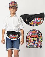 Набор кепка и бананка старс, сумка на пояс и бейсболка Stars