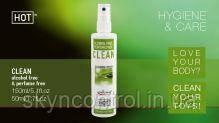 Очищувач для іграшок CLEAN 150 ml alcool free (8 Stk./Karton) , 150 ml
