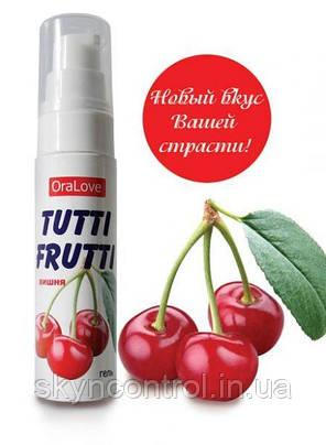 Їстівна мастило OraLove tutti-frutti Вишня, 30 г, фото 2