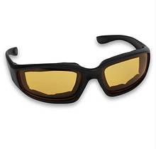 Спортивные защитные антибликовые очки Желтый