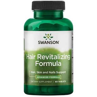 Swanson Hair Revitalizing Formula Комплекс для восстановления волос, 60 таблеток