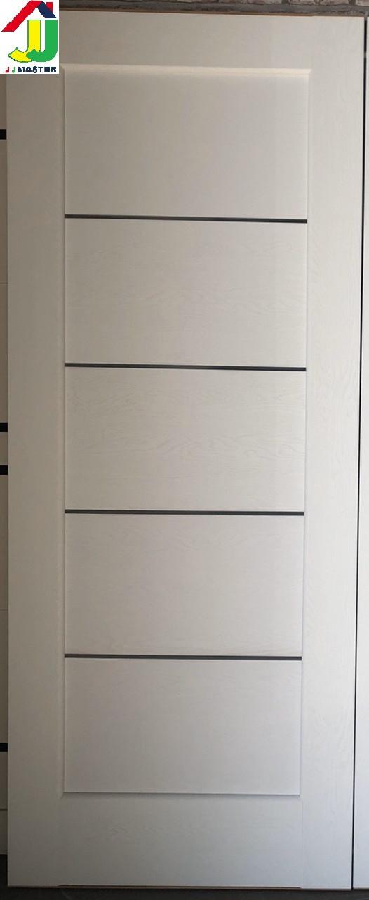 Двері міжкімнатні Premier 1X Soft Touch структурний ясен білий, скло сатин, двері для квартири, для дому.
