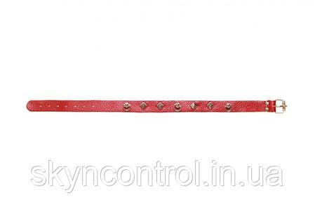 Ошейник Leather Choker,red, фото 2