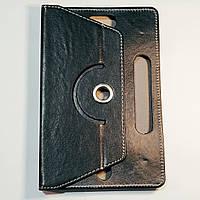 Чехол-книжка для планшета 9 дюймов с поворотом Черный