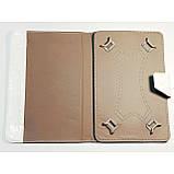 Чехол-книжка для планшета 9 дюймов Белый, фото 2