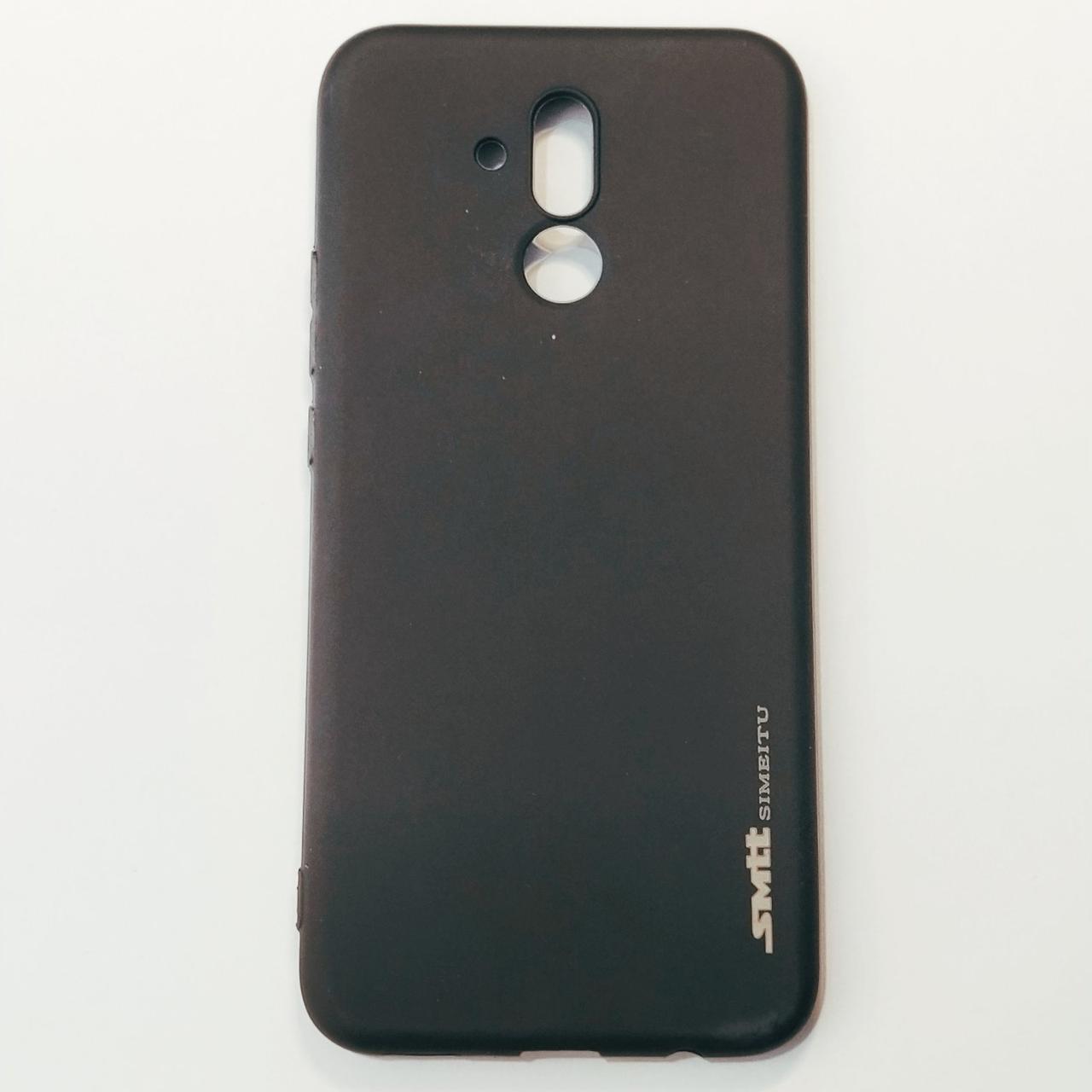Бампер для Huawei Mate 20 Lite Smit Черный