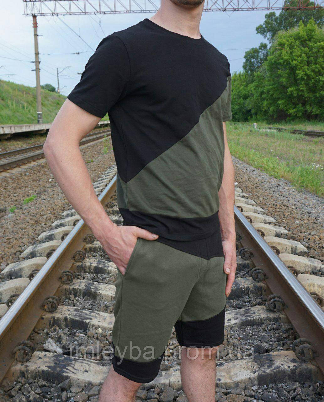 Костюм мужской шорты+ футболка