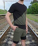 Костюм мужской шорты+ футболка, фото 1