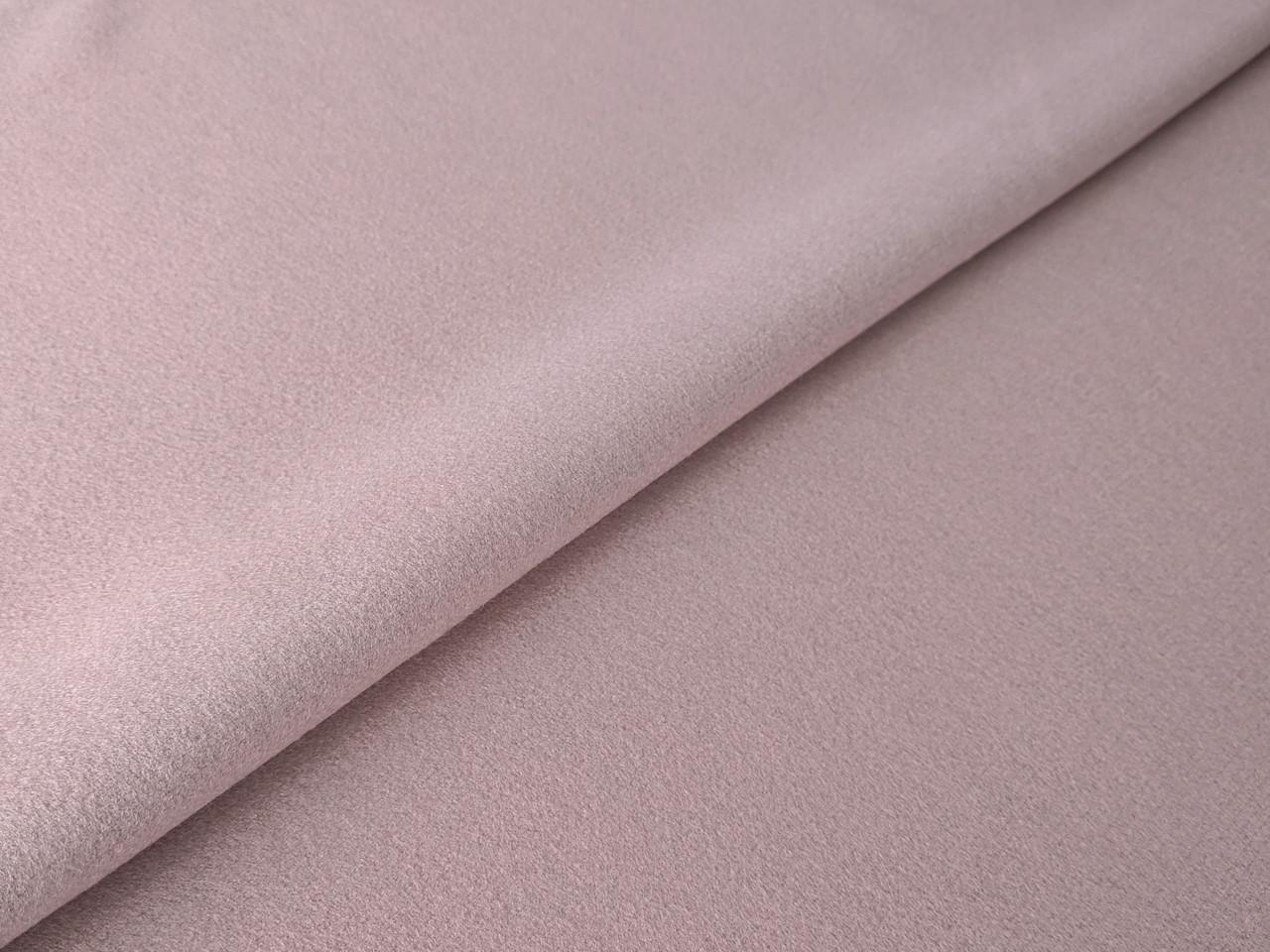 Кашемир трикотажный, бледно-розовый