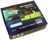 T2 тюнер UKC HD-9956 с WiFi Черный