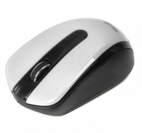 Беспроводная компьютерная мышь Maxxter Mr-325 Белый