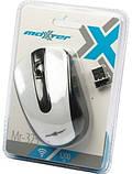 Беспроводная компьютерная мышь Maxxter Mr-325 Белый, фото 3