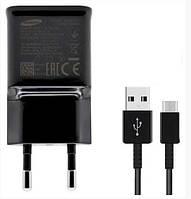 Сетевое зарядное устройство Samsung S9+ Qualcomm 800EWE micro USB Черный