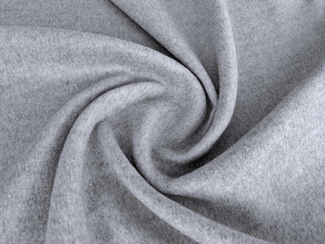 Шерсть лама пальтовая, серый