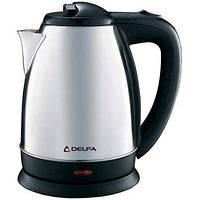 Электрический чайник Delfa 3000 Х2 Серебристый