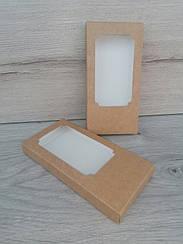 Коробка для плитки шоколада 160*80*17 крафт