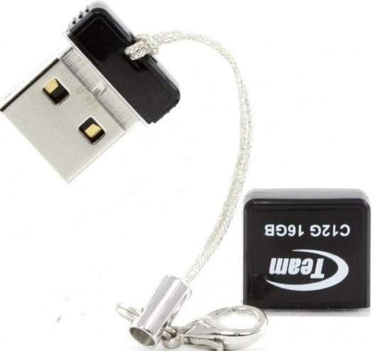 USB Flash накопитель Team C12G 16GB Черный