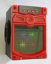Портативная колонка чемодан KX93 Красный
