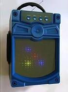 Портативная колонка чемодан KX93 Синий