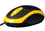 Мышь Frime FM-001BY Желтый, фото 2