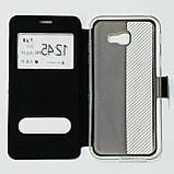 Чехол-книжка для Samsung A720 Черный, фото 2