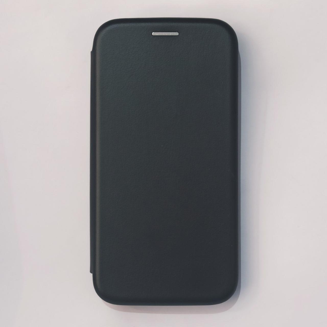 Чехол-книжка для Samsung J3 Pro J330 Черный