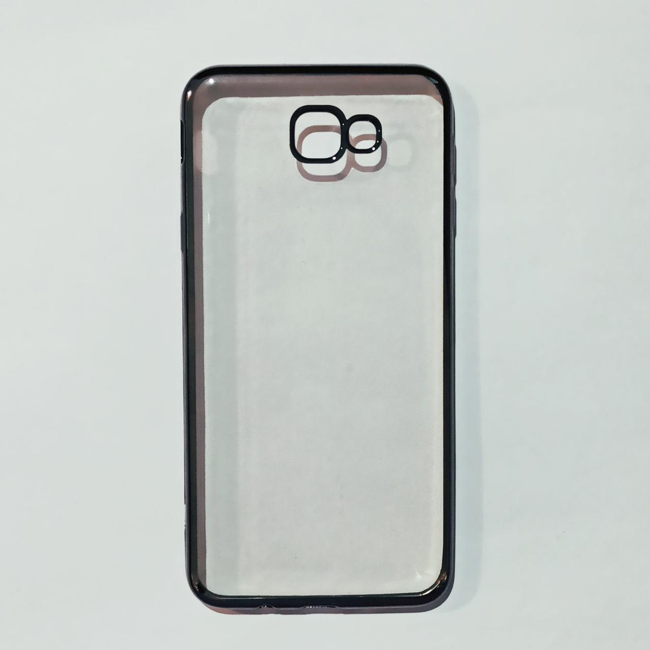 Бампер для Samsung J5 Prime Прозрачный