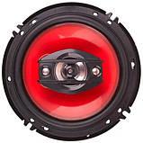 Колонки автомобильные TS-1647 (16 см) Красный, фото 2