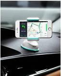 Автомобильный держатель телефона Hoco СА5 Белый, фото 2