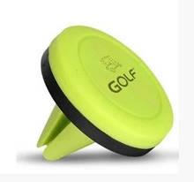Автомобильный держатель телефона Golf CH02 Салатовый