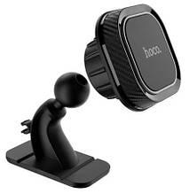 Автомобильный держатель телефона Hoco CA53 Черный