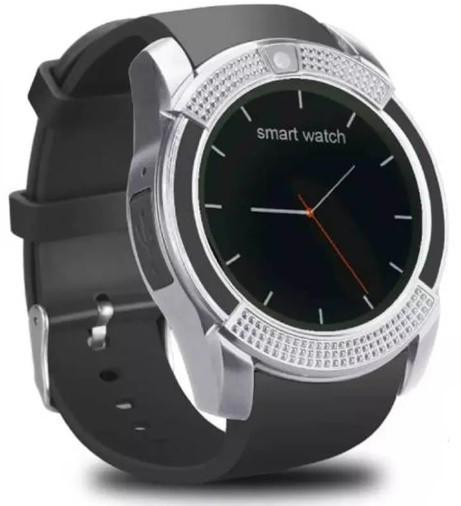 Smart Watch V8 Серебристый