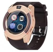 Smart Часы V8 Золотой