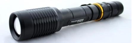 Фонарик Bailong Police BL 2804 T6 Черный