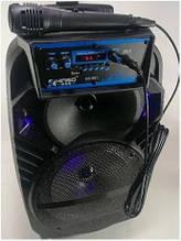 Портативная колонка чемодан Kimiso QS-801 Черный