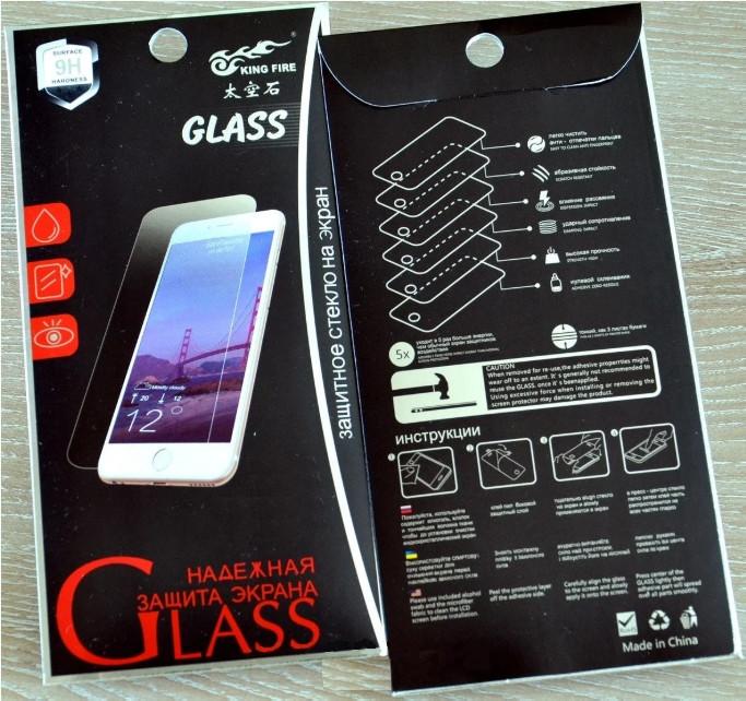 Захисне скло для Samsung A305/A30 9H Прозорий