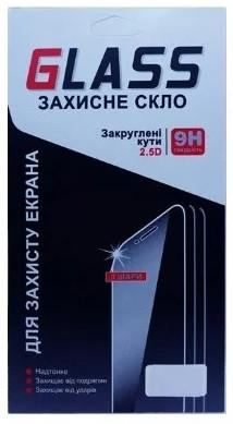 Захисне скло для Samsung A305/A30 2.5 D Чорний