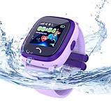 Смарт часы Smart Baby Watch DF25 Фиолетовый, фото 3