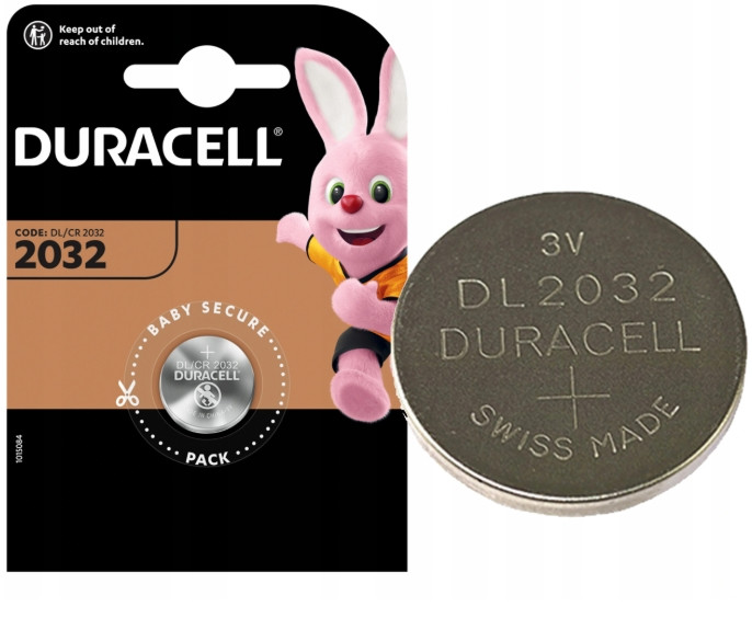 Лужна Батарейка Duracell 2032