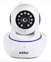 Внутренняя IP Видеокамера Kerui Z06 1080P 1MPIX Белый