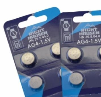 Батарейка щелочная Right Hausen AG4