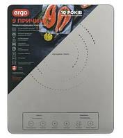 Индукционная плита Ergo IPH-1601 1800W Серый, фото 1