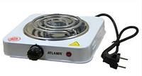 Плита электрическая Atlanfa AT-1751A 1000W Белый