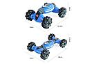 Трюковая машинка перевертыш на радиоуправлении (Синий) с пультом управления и сенсорным браслетом   , фото 5