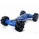 Трюковая машинка перевертыш на радиоуправлении (Синий) с пультом управления и сенсорным браслетом   , фото 3