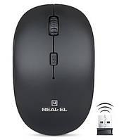 Беспроводная Мышь Real RM-301 Черный